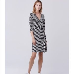 {diane von furstenberg} new Julian wrap dress